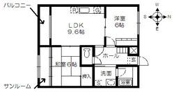 MK横江205_間取図