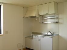 プリエール宮前A101号室のキッチン