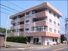 鯖江市長泉寺町1丁目の3DKオール電化賃貸マンション『グリーンコーポ鯖江』(301)の外観です。