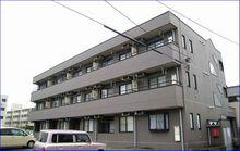鯖江市神中町3丁目の賃貸マンション『MKマンション神中』の外観です。