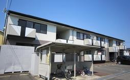鯖江市新横江2丁目の2LDK賃貸「セジュール新横江」の外観です