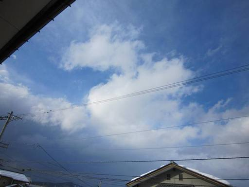 2012年2月8日の鯖江市内の天気